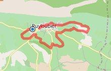 PUYLOUBIER - Parcours sans difficult� au pied de Sainte-Victoire