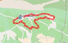 PUYLOUBIER - Parcours sans difficulté au pied de Sainte-Victoire