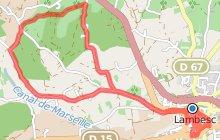 """LAMBESC - Balade sans difficulté autour de la """"Versailles Provençale"""""""