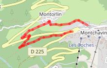 Itinéraire de randonnée : La Boucle de Montorlin