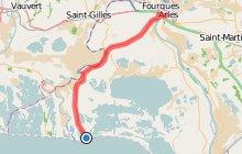 Des Saintes-Maries-de-la-Mer à Arles