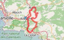 La baie de La Ciotat et la Sainte-Baume