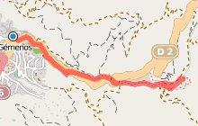 Sur les pas du GR2013 : la vall�e de St Pons