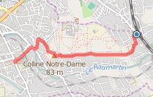 GR2013 : De la gare du Pas des Lanciers à Marignane