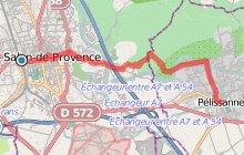 GR2013 : De Salon de Provence à Pélissanne