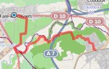 GR2013 : De la Fare les Oliviers à Velaux