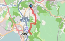 GR2013 : De Velaux à la Corniche de Rognac
