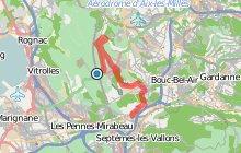 GR2013 : De la gare Aix TGV à Plan Campagne