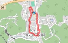Meyrargues : Du centre ancien au Grand Vallat