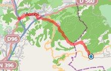 GR2013 : De Plan d'Aups au Pont de Joux