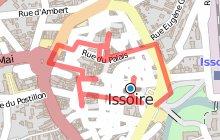 """Circuit ville : """"Circuit découverte du centre ville d'Issoire"""""""