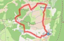 Circuit n°2 - Cuisiat/Pressiat