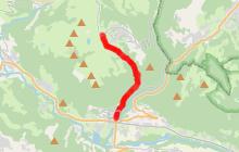 Montée du Praz de Lys par les Pavés, du village à l'alpage
