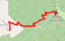Circuit de la Grotte du Jourdy à la Chapelle St-Grat