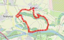 """Circuit pédestre Balan """"Entre Rhône et lônes"""""""