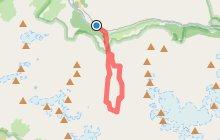 Le Lac des F�toules par le Refuge de la Lavey