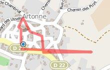 Visite multimédia du bourg d'Artonne