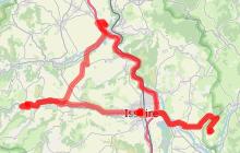 """Circuit auto : """"Villages Remarquables autour d'Issoire"""""""