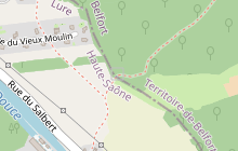 GR®5 Nord-Sud en Haute-Saône - Vosges du sud