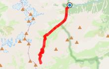 EldoradoRando - Col de l'Aup Martin