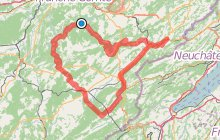 Circuit Cyclo - Entre vall�es, lacs et canyons