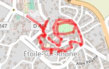Parcours du patrimoine d'Étoile sur Rhône