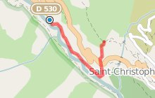 Via-ferrata de Saint Christophe en Oisans