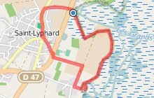 Circuit de La Pierre Fendue - Bords de Marais Variante 5 km