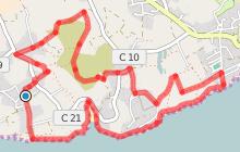 Circuit de l'Anse de Rospico - Névez