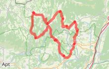 Route de la lavande au pays de Forcalquier - montagne de Lure