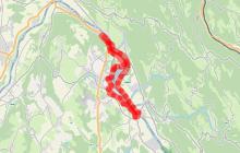"""Circuit n°7 """"Le Tour de la Vallée Bleue"""""""