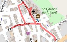 St-Just St-Rambert - parcours historique illustré