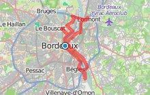 Circuit des cinq ponts à Bordeaux