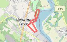 """Circuit n° 4 """"La Plaine de Montalieu et la Vallée Bleue"""""""