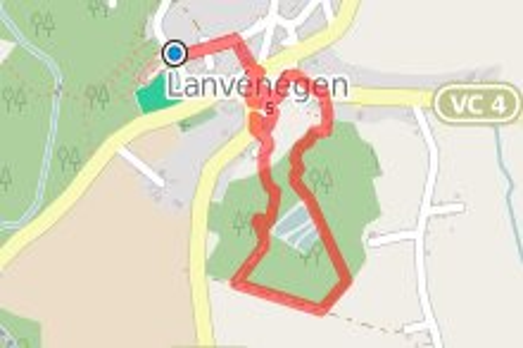 Hent ar Pennglaouig à Lanvénégen - circuit n°28