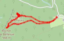 Circuit pédestre : le Tour de l'Aiguille de Chalais