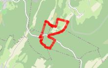 Circuit VTT n°58  d'Initiation Captiot - Autoreille - Vallée de l'Ognon