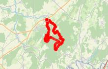 Circuit VTT n°57 - La ferme Courbey - Bucey-lès-Gy - Vallée de l'Ognon