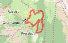 """Circuit n°109 """"Sentier du Mont Myon"""" à Chevignat"""