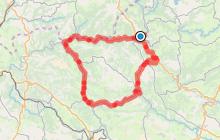 Circuit Cyclo 4 - Le long du Dourdou au départ d'Entraygues