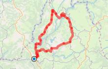 Circuit Cyclo 8 - Gorges de la Truyère au départ d'Entraygues