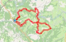 Circuit Cyclo 9 - Le Petit Huit au départ d'Entraygues