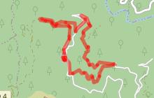 Randonnée Le tour de Charrus - St André Lachamp