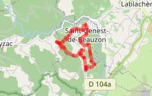 Randonnée Le Sentier du Pléjador - St Genest de Beauzon