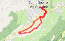 Circuit VTT n°31 vert  - Les Marais du Val d'Ainan