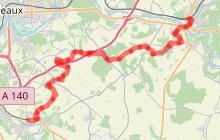 La Brie à vélo : de Crécy-la-Chapelle à la Ferté-sous-Jouarre