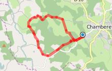 Circuit n°1 Saint-Dulcet - Espace VTT-FFC La Petite Montagne Limousine