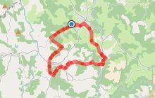 Circuit n°2 Soudaine / La Vinadière - Espace VTT-FFC La Petite Montagne Limousine
