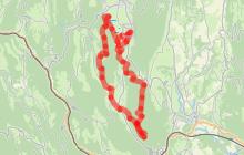 Boucle équestre autour de Cormaranche - Ain à cheval
