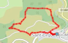 Sentier de Saint Cirgues en Montagne